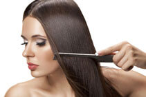 Нанесение арганового масла на волосы (фото)