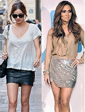Короткая юбка в 30 лет