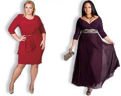 952c9c16c90 Фасоны вечерних платьев для полных. Вечерние платья для полных девушек  (фото)