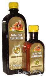 Льняное масло.