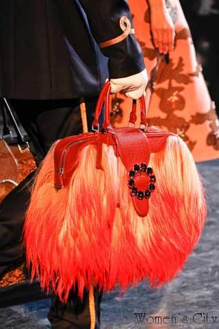 Меховая сумка осень-зима 2012-2013.