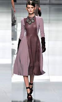 Коллекция осень 2013 платья