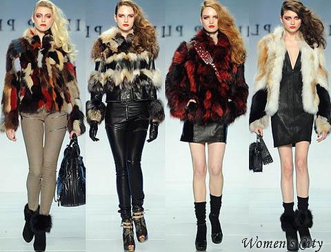 Куртки с мехом сезона осень зима 2012 2013