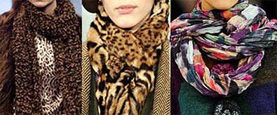 Модные шарфы сезона осень-зима 2012-2013.