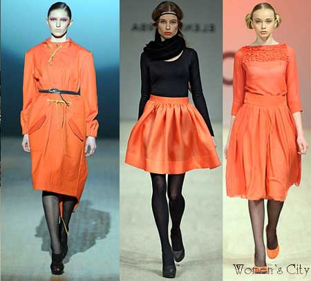 Moda sonbahar-k 2012-2013 portakal rengi.