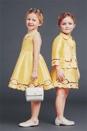 Детская мода осень-зима 2014-2015 для девочек и мальчиков. Фото и