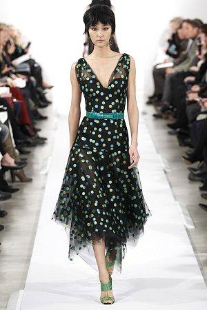 Платье в горох 2015