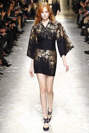 Платье-кимоно осень-зима 2014-15 (фото)