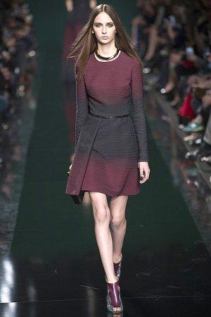 Модное платье в ретро-стиле