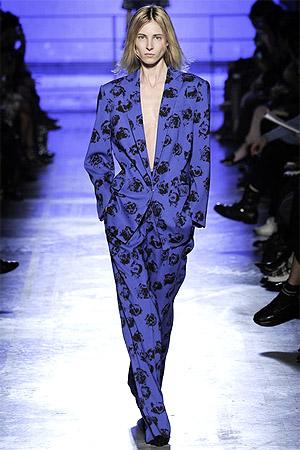 Брюки домашнего стиля а-ля пижама от Emanuel Ungaro