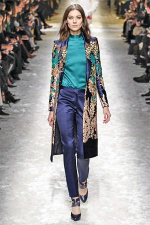 Модные брюки из коллекции Blumarine 2014/15