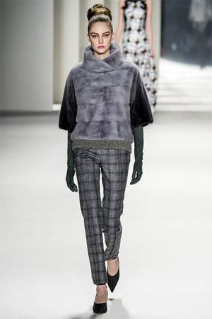Красивые брюки из модной коллекции Carolina_Herrera осень-зима 2014/2015 (фото)