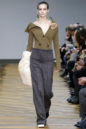 Модные брюки с высокой талией (фото)