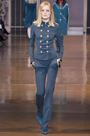 Укороченный жакет от Versace осень-зима 2014-2015 (фото)