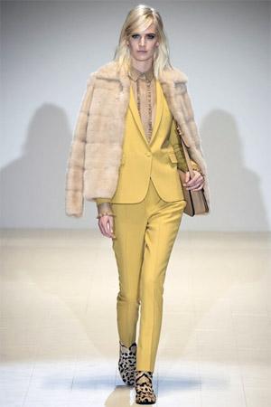 Желтый жакетик от Гуччи (фото)