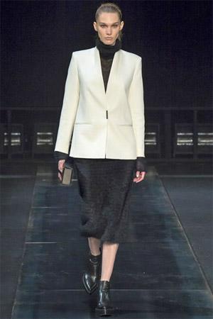 Жакет белого цвета от Helmut Lang (фото)