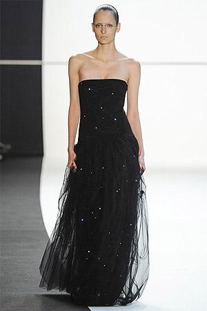Черное вечернее платье (фото)