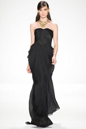 Модное черное платье (фото)