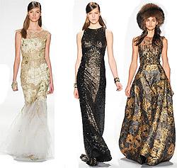 Вечерние платья сезона осень-зима 2014-2015 (фото)