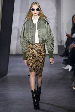 Модная юбка с орнаментом (фото)