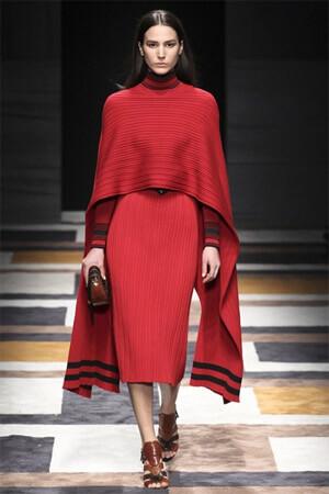 Модная красная юбка от Salvatore Ferragamo (фото)