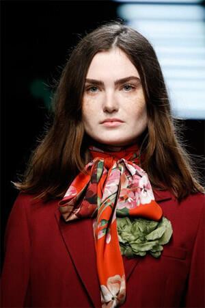 Модные шарфы на голову фото