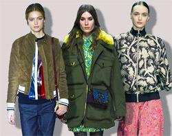 3712153ef38 Модные женские куртки осень-зима 2016-2017 – новинки