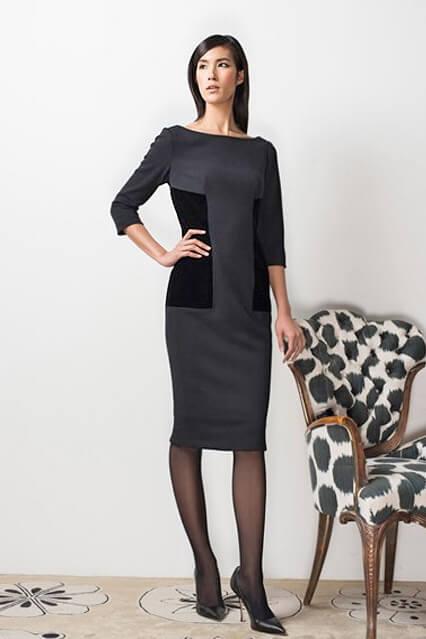 Деловое платье-футляр из коллекции Barbara Tfank