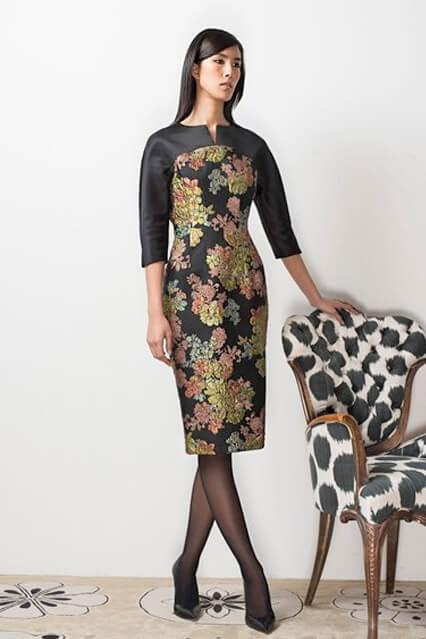 Платье деловое от кутюр