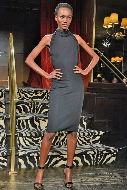 Платье от Brandon Maxwell