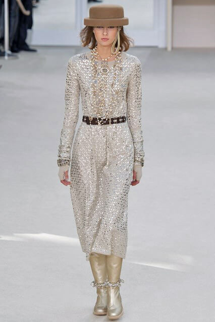 Модное коктейльное платье 2016-17 от Chanel