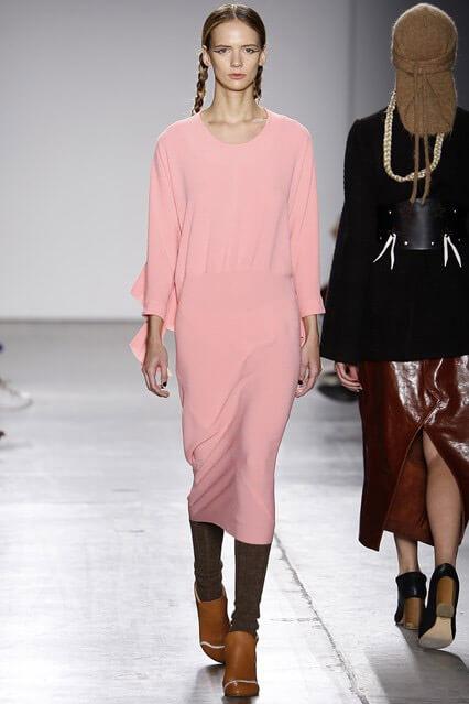 Модные деловые платья осень-зима 2016-2017 – новинки 8379f05a7c041