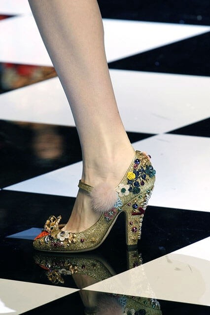 Туфли от Dolce and Gabbana