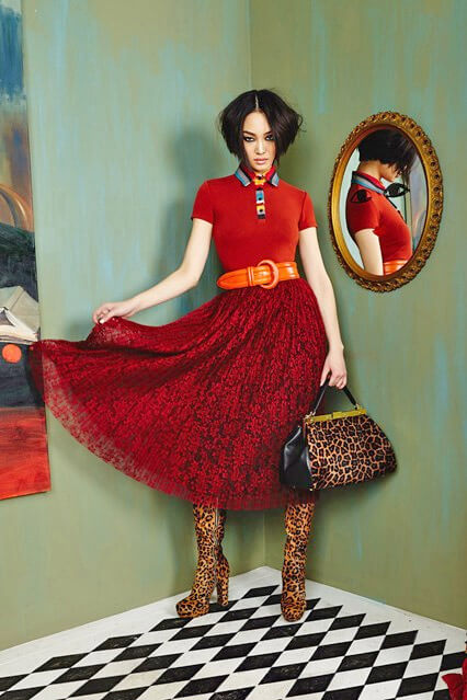 Модная клешеная юбка от Alice&Olivia