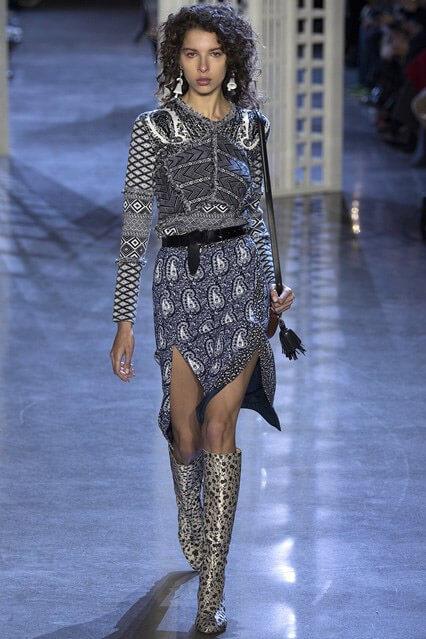 Модная юбка с разрезом от Altuzarra