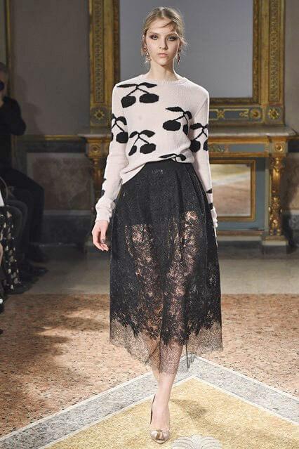 Кружевная юбка от LES COPAINS