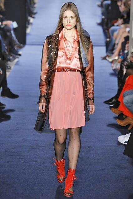 Розовая юбка из коллекции Alexis Mabille