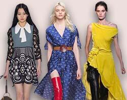 2d57263379b8 Модные платья осень-зима 2017-2018 - новинки с показов