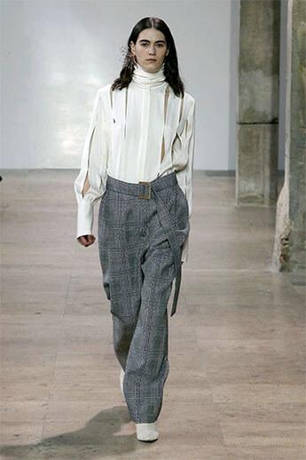 Клетчатые брюки от Ellery
