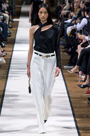 Белые брюки от Lanvin