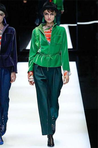 Зеленые от Giorgio Armani