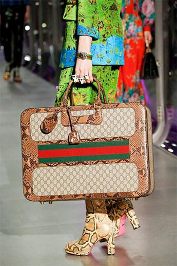 Квадратная сумка от Gucci