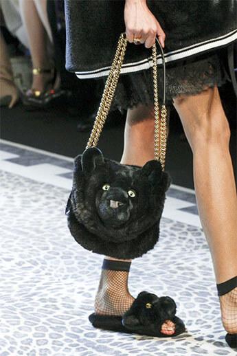 Сумка-медведь от Dolce&Gabbana