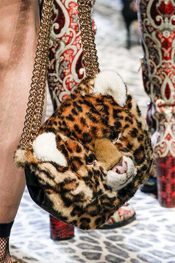 Сумка-тигр от Dolce&Gabbana