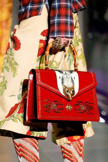 Модная трапеция от Gucci