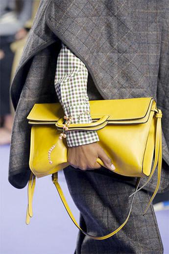 Желтая сумка от Mulberry