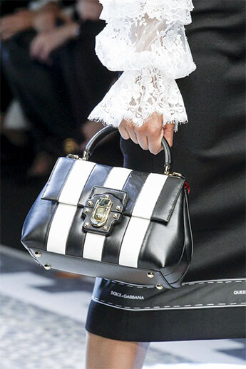 Черно-белая классика от Dolce&Gabbana