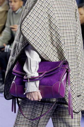 Фиолетовая сумочка 2017-18 от Mulberry