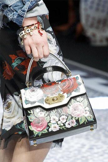 Богатый декор от Dolce&Gabbana