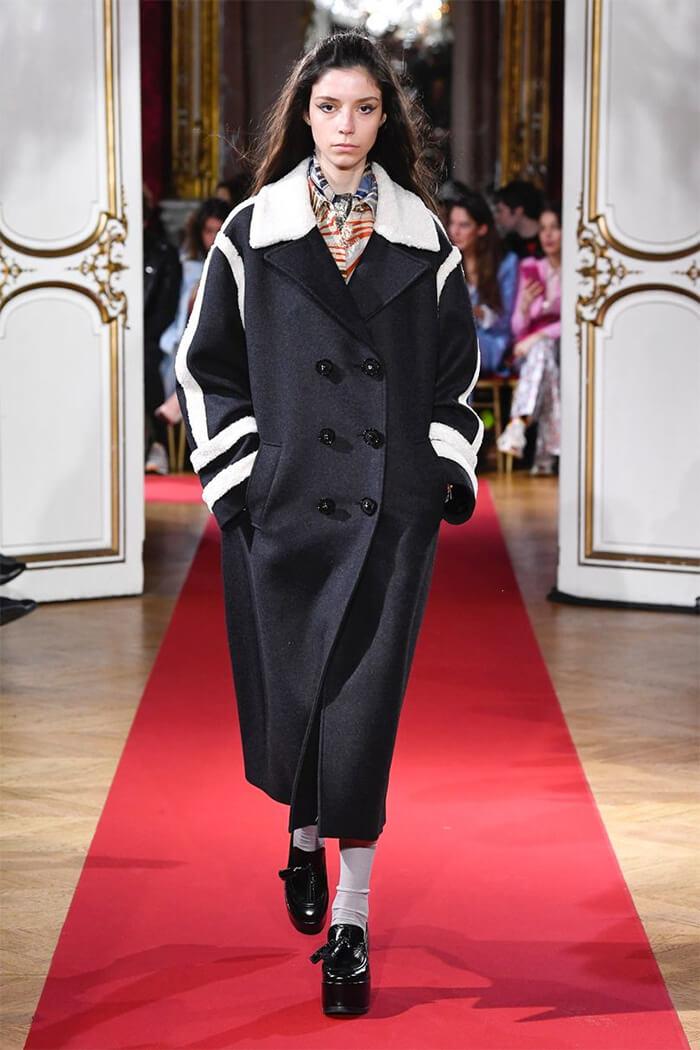 6669fb09004 Модные плащи и пальто осень-зима 2018-2019 - новинки